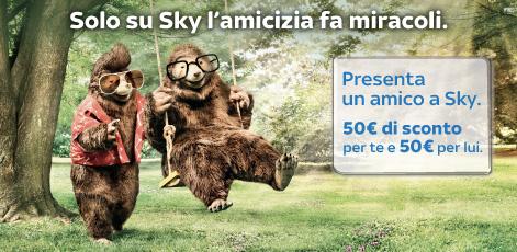 Sky Presenta Un Amico Tutti I Codice Amico Per Le Promozioni