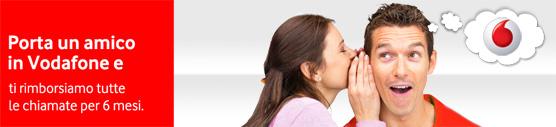 Porta un amico in vodafone tutti i codice amico per le - Vodafone porta un amico ...