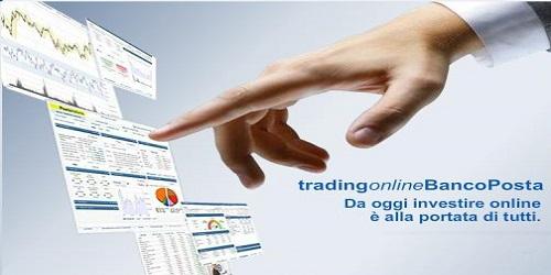 fare trading con Bancoposta