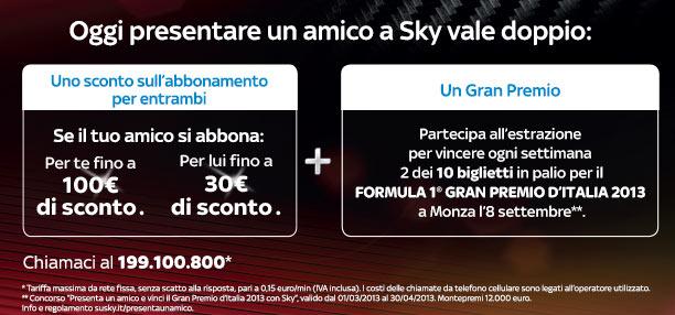 promozione sky marzo 2013