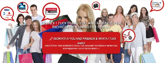 genertel you and friends codice passaparola S709VI