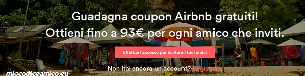 airbnb invita i tuoi amici