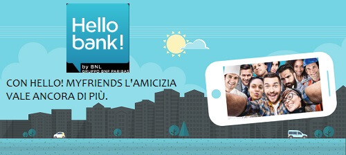 hello bank porta un amico