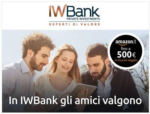 iwbank gli amici valgono
