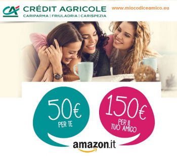 credit agricole porta un amico