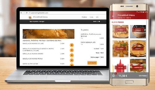 klikin app e web per ristoranti