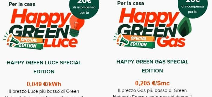 porta un amico happy green