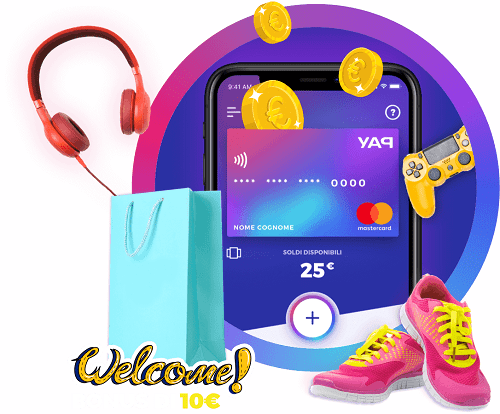 App YAP pagamenti virtuali