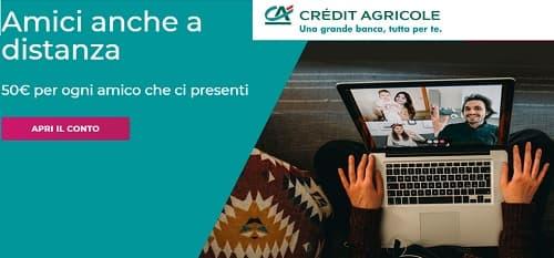 Crédit Agricole premia l'amicizia