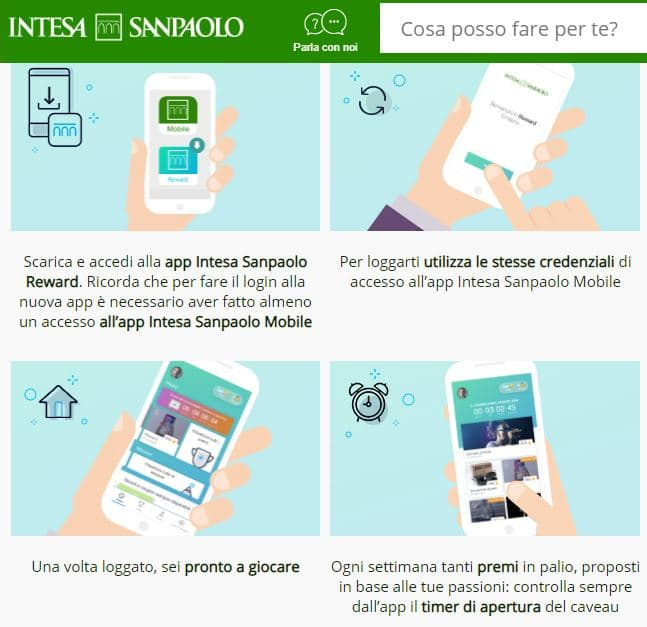 Intesa San Paolo Reward