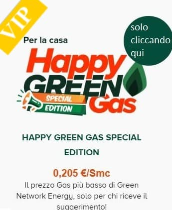 Happy Green invito di Miocodiceamico.eu