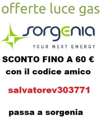Codice amico Sorgenia: salvatorev303771